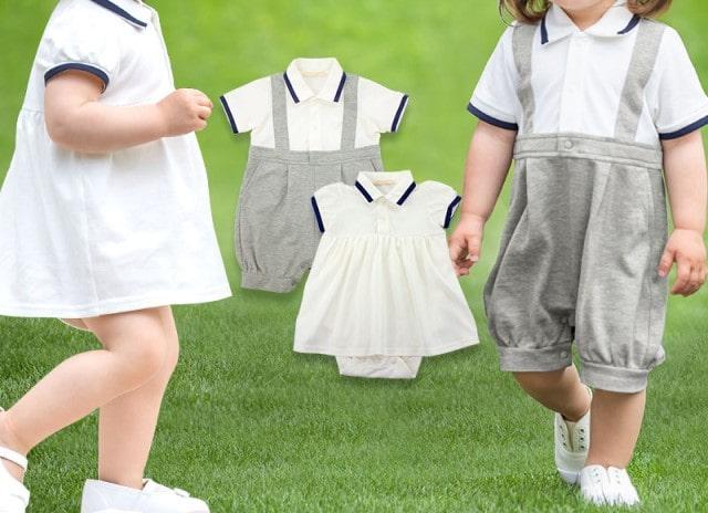 結婚式の赤ちゃんの服装